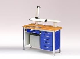 M – 82 (CL) Arbeitstisch für Zahntechniker