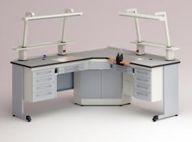 M – 82C Arbeitstisch für Zahntechniker